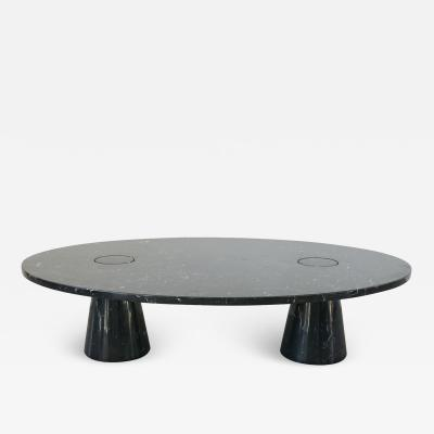 Angelo Mangiarotti OVAL ANGELO MANGIAROTTI MARBLE COFFEE TABLE