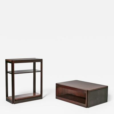 Angelo Mangiarotti Pair of 4D Units by Angelo Mangiarotti for Molteni