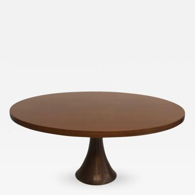 Angelo Mangiarotti Rare Angelo Mangiarotti Coffee Table in Bronze
