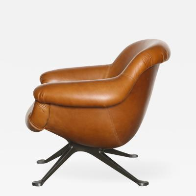 Angelo Mangiarotti Rare Lounge Chair 1110 by Angelo Mangiarotti for Cassina