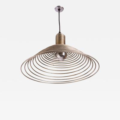 Angelo Mangiarotti Spirale Pendant Lamp by Angelo Mangiarotti for Candle