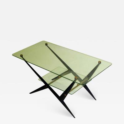 Angelo Ostuni 2 Italian Mid Century Modern Coffee Side Tables by Angelo Ostuni for O Luce