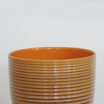 Angelo Simonetto Futurismo Ceramic Vase by Angelo Simonetto for Galvani Pordenone