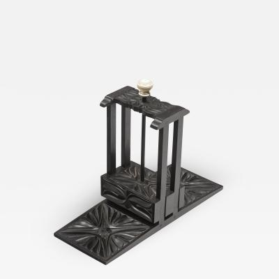 Anglo Indian Ebony Playing Card Press