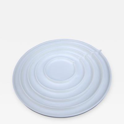 Ann Van Hoey Geometry Bone China Round Plates by Ann Van Hoey for Serax