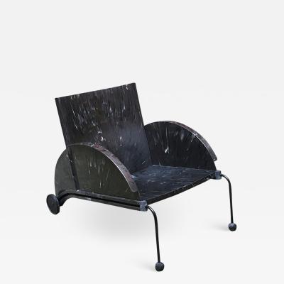Anna Castelli Lounge chair 4841 by Anna Castelli Ferrieri for Kartell 1980s