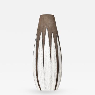 Anna Lisa Thomson Floor Vase Model Paprika Produced by Upsala Ekeby