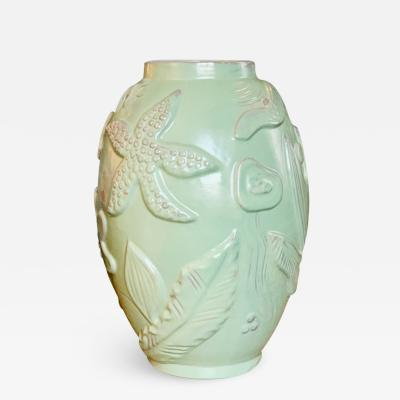 Anna Lisa Thomson Monumental Vase with Sea Life The by Anna Lisa Thomson