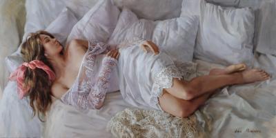 Anna Marinova White Lace