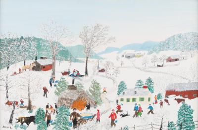 Anna Mary Robertson Grandma Moses Moses March