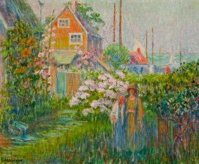 Anna W Speakman The End of the Village Nantucket