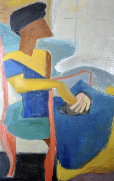 Anne Helioff Cubist Woman