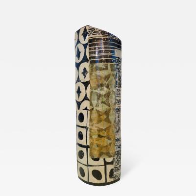 Annette Wandrer German Ceramic Vase by Annette Wandrer