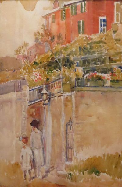 Annie Gooding Sykes Stairway Bermuda