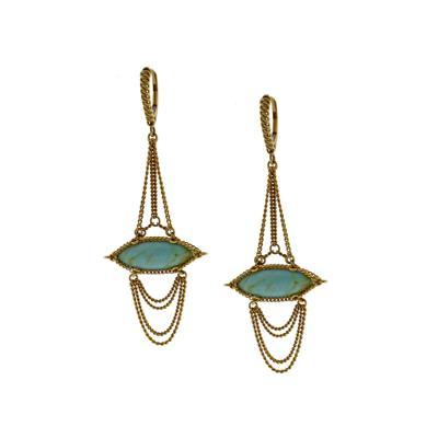 Anthony Nak Anthony Nak Turquoise Drop Earrings