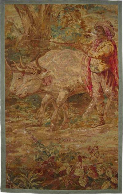 Antique 17th Century Brussels Tapestry