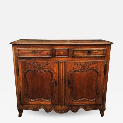 Antique 18th C Italian Country Walnut Sideboard or Buffet