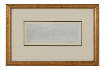 Antique 18th C Paul Sandby Master Drawing