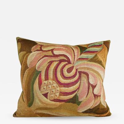 Antique 18th Century Aubusson Pillow