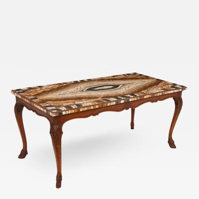 Antique 18th Century onyx topped table