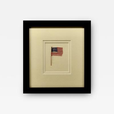 Antique 30 Star American Flag Circa 1848