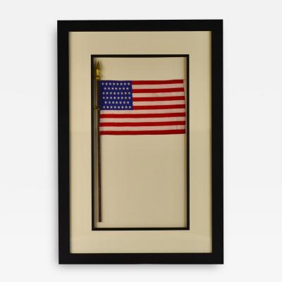 Antique 46 Star American Flag 113 Years Old
