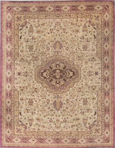 Antique Agra Rug 9 X 12
