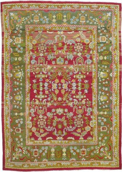 Antique Amritsar Carpet DK 110 1