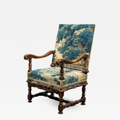 Antique Armchair in Period Verdure