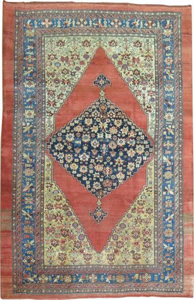 Antique Bidjar Rug rug no 8138
