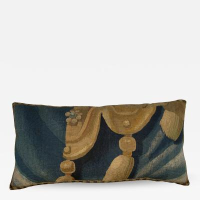 Antique Brussels Tapestry Pillow