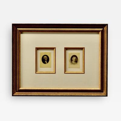 Antique Cellulite Images of George Martha Washington
