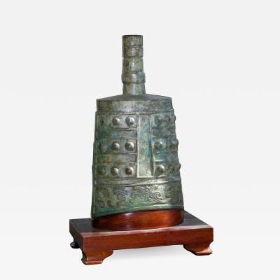 Antique Chinese Bronze Bell