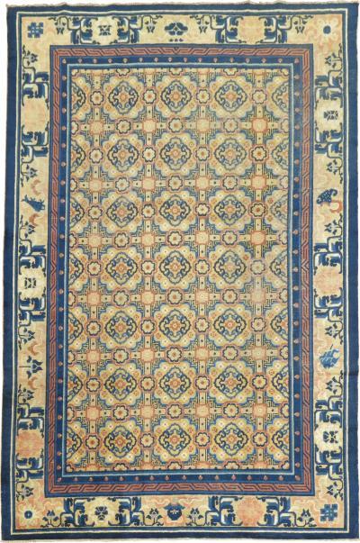 Antique Chinese Peking Rug rug no j1528