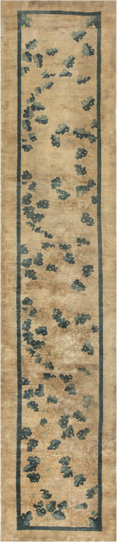 Antique Chinese Runner size adjusted