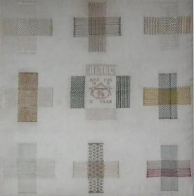 Antique Darning Sampler dated 1811