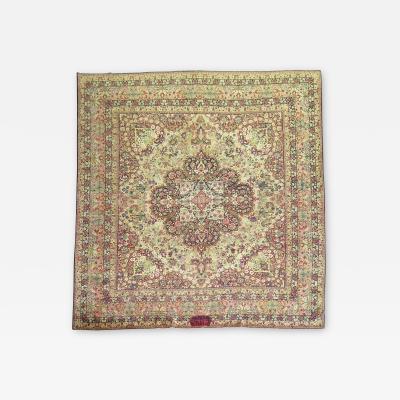 Antique Dated Signed Lavar Kerman rug no j1160