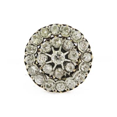 Antique Diamond Cluster Ring