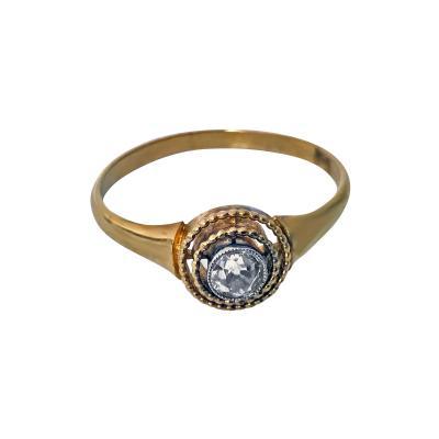 Antique Diamond Ring Continental C 1910