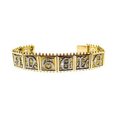 Antique Diamond and Gold Bracelet