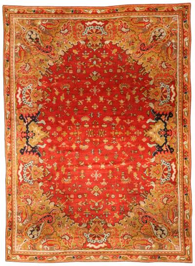 Antique English Axminster Carpet