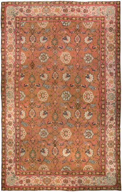 Antique English Axminster Rug size adjusted
