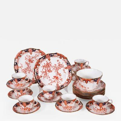 Antique English Luncheon Service For 8 People