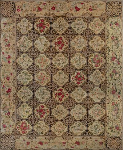 Antique English Needlework sized adjusted