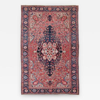 Antique Feraghan Sarouk Rug