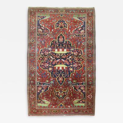 Antique Fereghan Sarouk Rug rug no 9059
