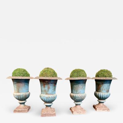 Antique French Garden Urns 19th Century