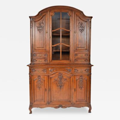 Antique French Louis XIV Style Oak Buffet
