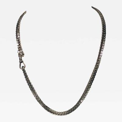 Antique Gold Necklace Chain English C 1890