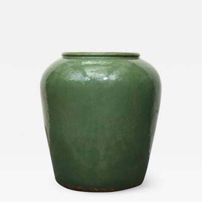 Antique Green Pot